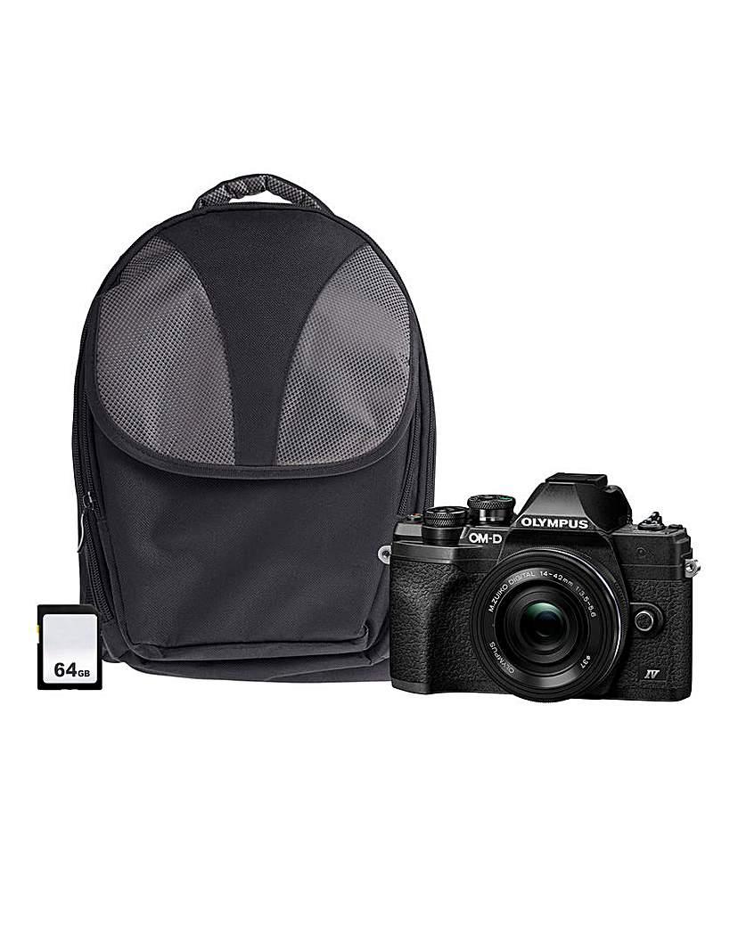 Olympus E-M10 Camera Bundle