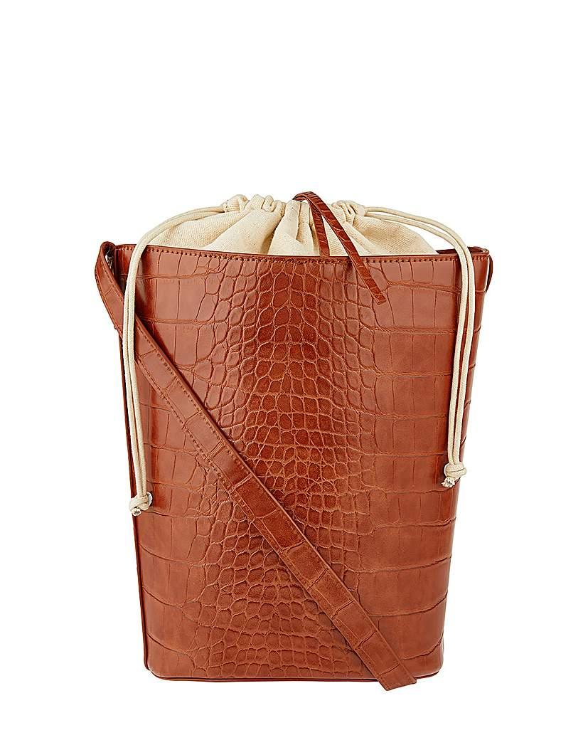 24578305667 Monsoon Claris Croc Bucket Bag