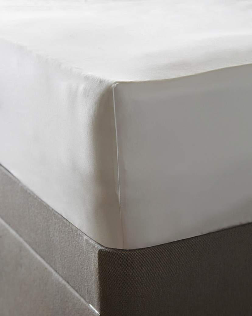 Image of 1000 TC Cotton Sateen Deep Fitted Sheet
