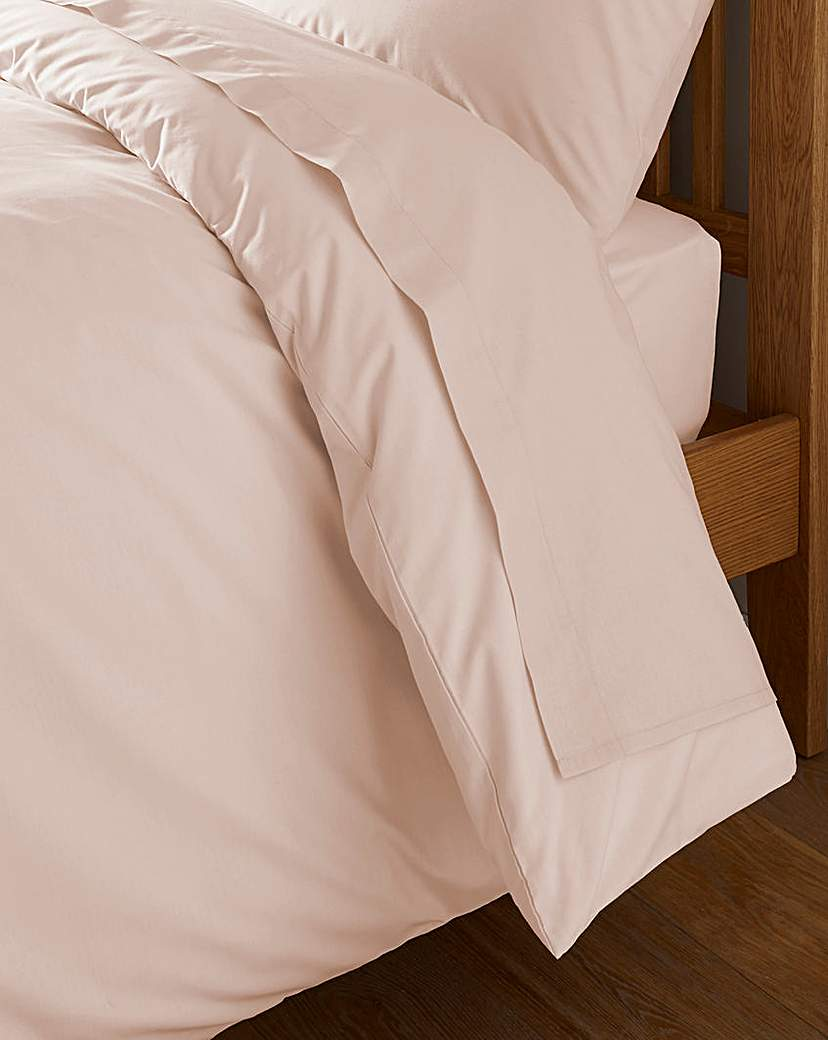 Image of 100% Cotton Percale 200 TC Flat Sheet
