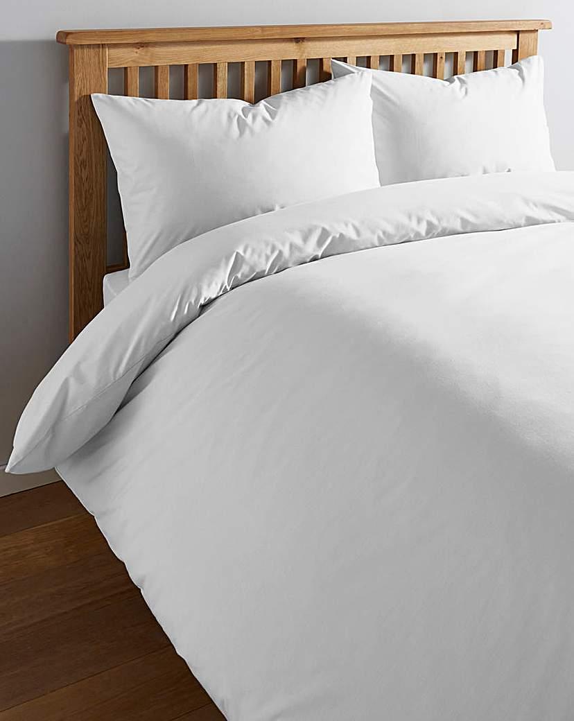 Image of 100% Cotton Percale 200 TC Duvet Cover
