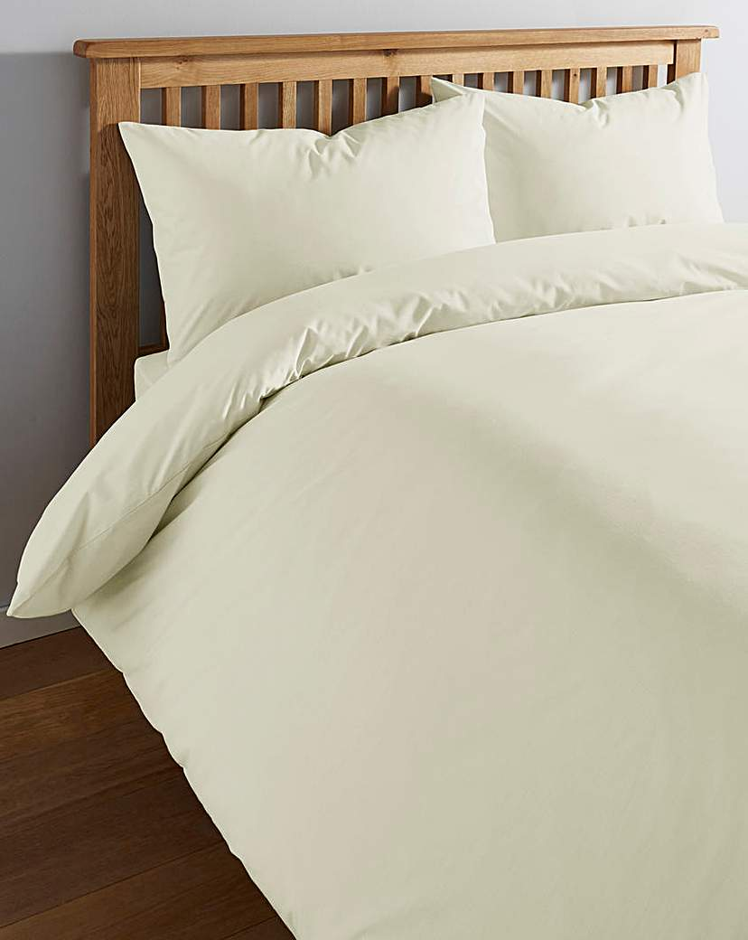 Image of 100% Cotton Percale 200 TC Duvet Cover