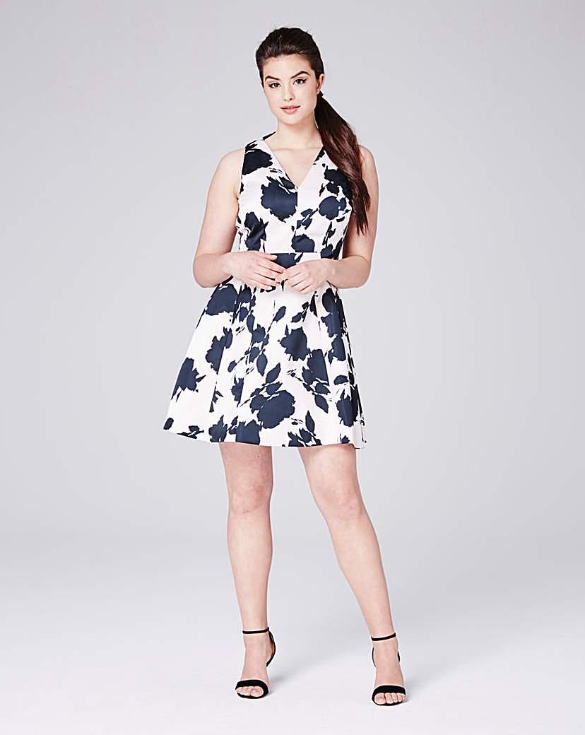 Coast Coast Kristen A Line Print Dress