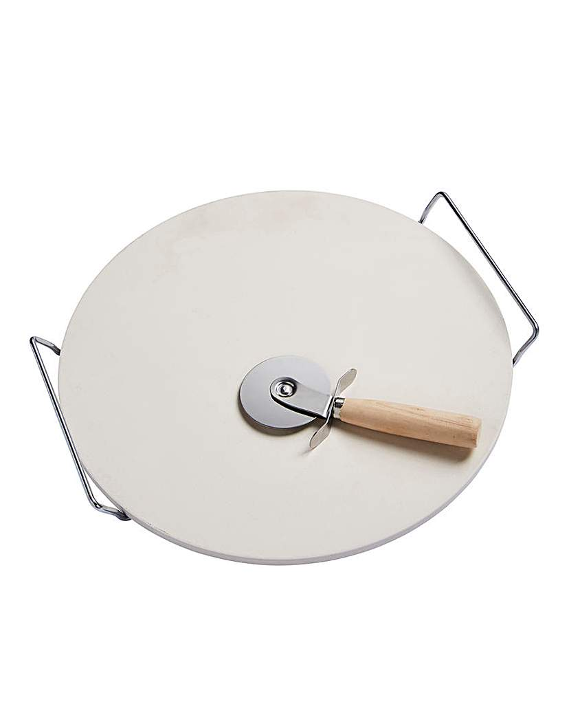 Image of Spear & Jackson Pizza Stone & Cutter