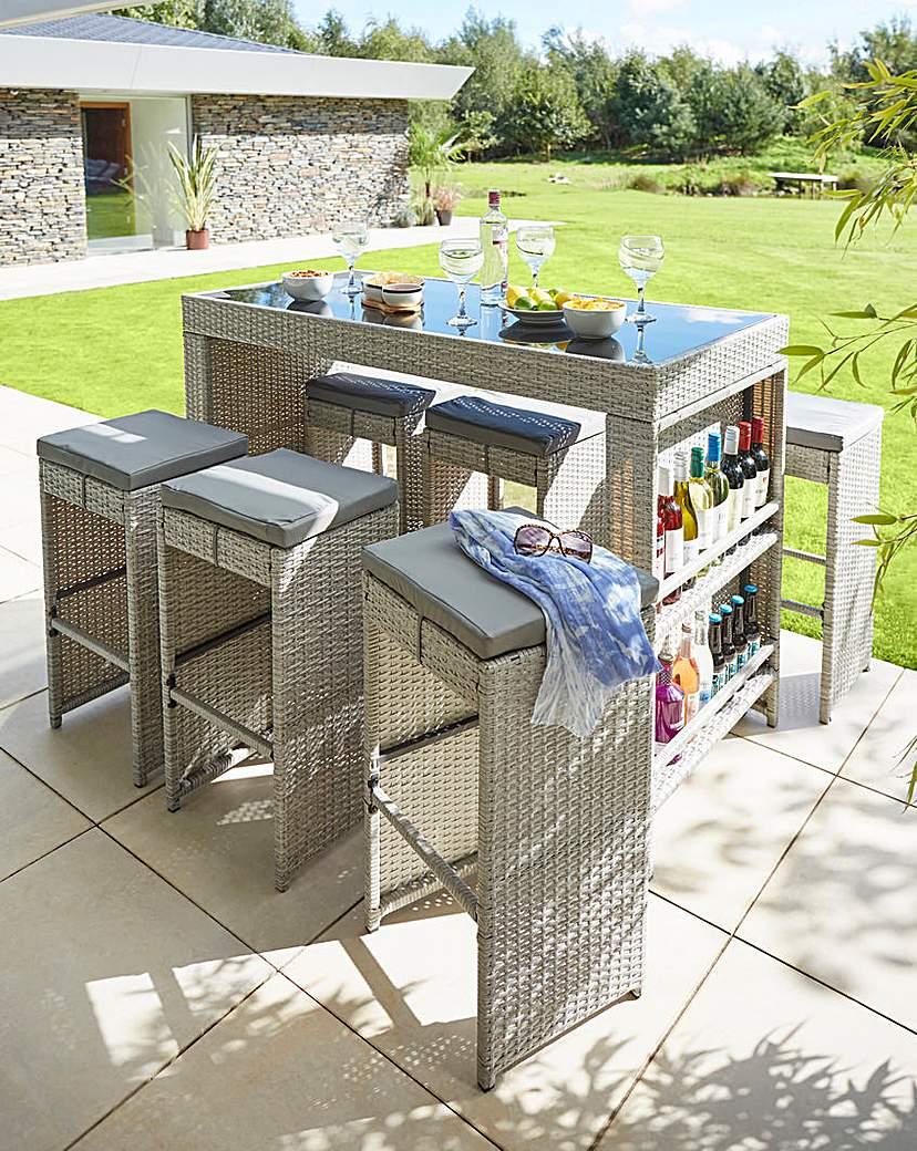 Image of Cabana 6 Seat Bar Set