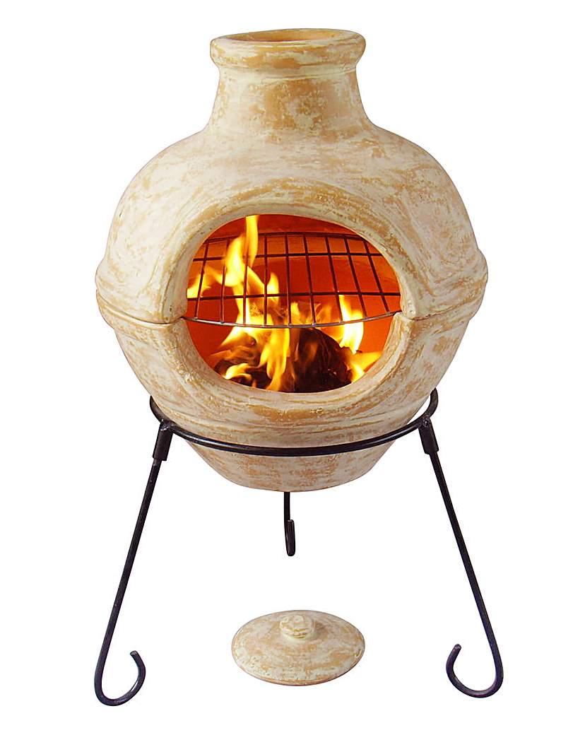 Image of Cozumel Clay 2 in 1 Chimenea