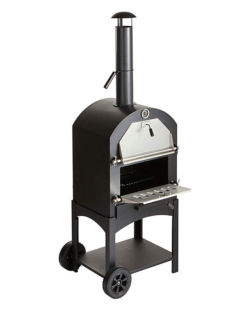 Image of Spear & Jackson Outdoor Pizza Oven & BBQ