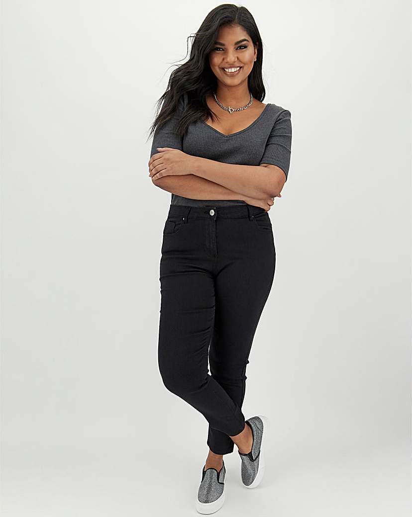 Capsule Lexi High Waist Slim Leg Jeans