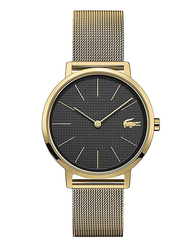 Lacoste Lacoste Ladies Gold Plated Moon Watch