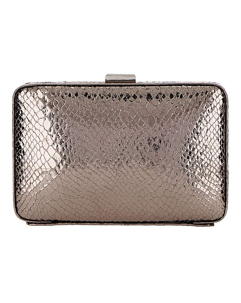 Joanna Hope Joanna Hope Pewter Snake Clutch