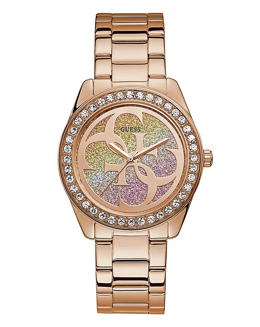 Guess Guess Ladies Rose Gold Bracelet Watch