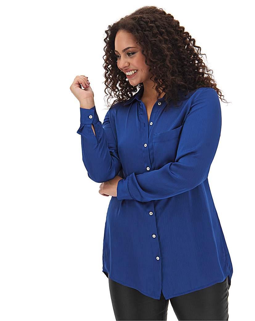 Capsule Dark Blue Large Pocket Shirt