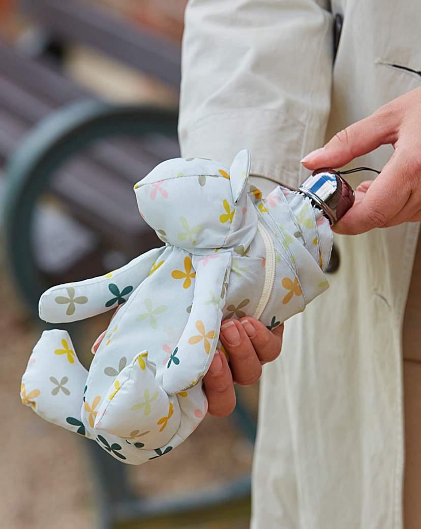 Teddy Bear Umbrella and Case