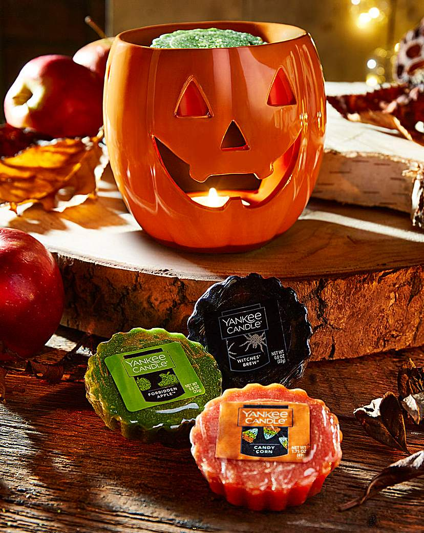 Yankee Candle Halloween Melt Warmer Set