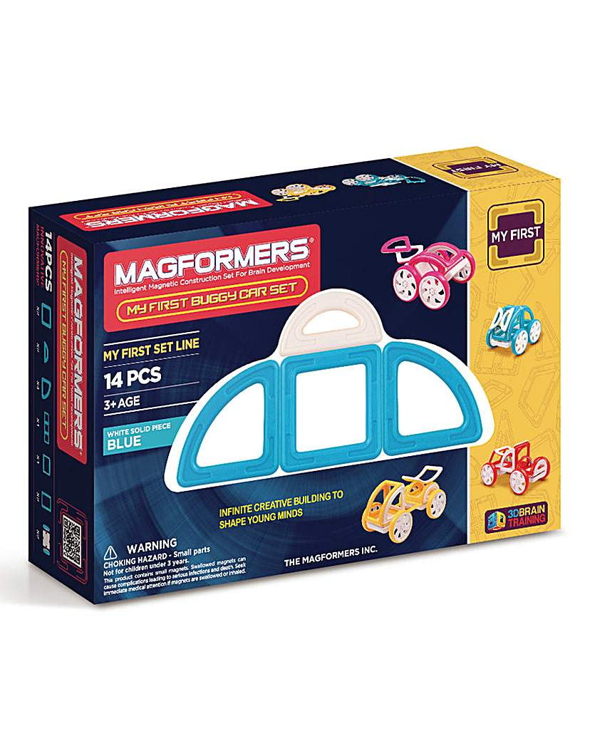 Image of Magformers My First buggy Car Set - Blue