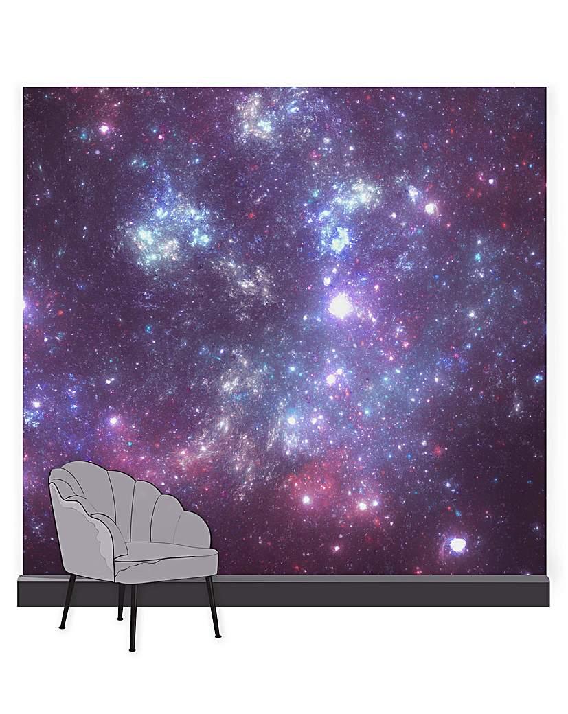 Constellation Aurora Purple Mural