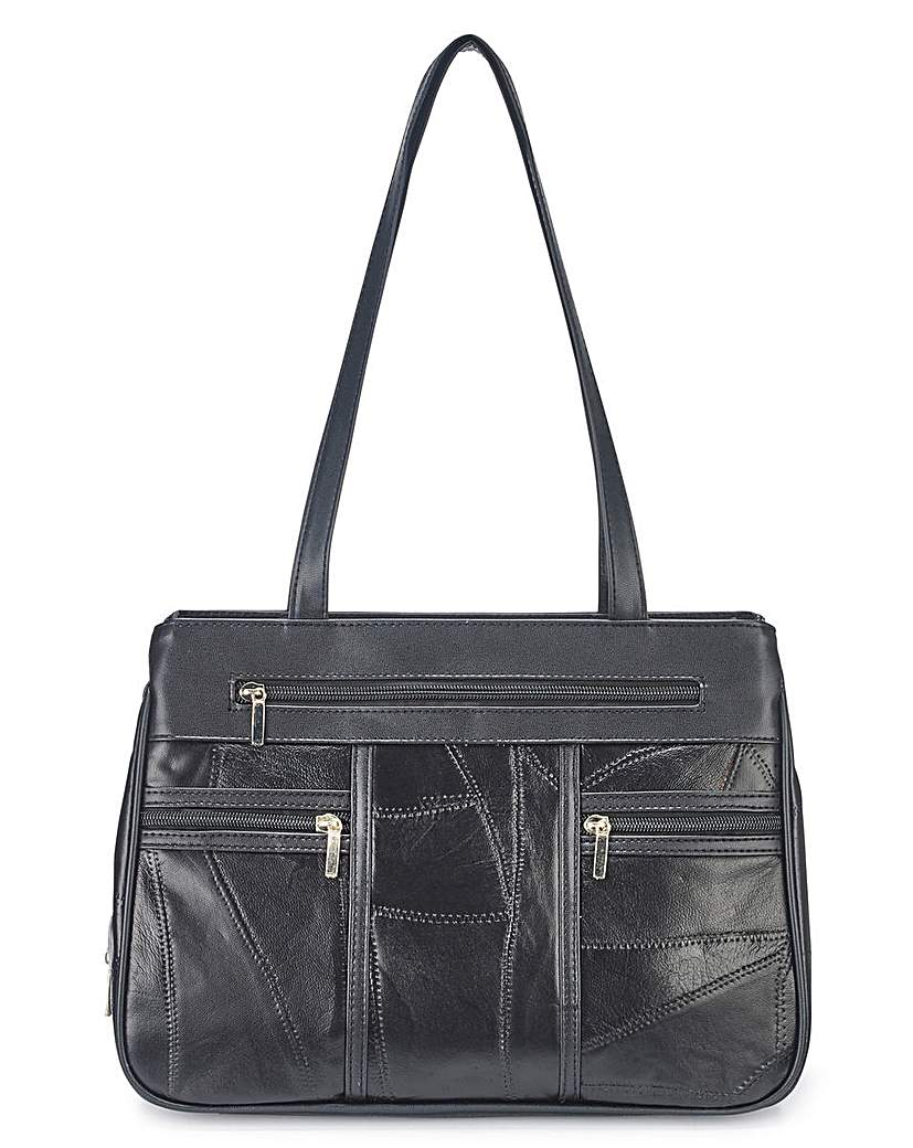 14785216423 Leather Shoulder Bag