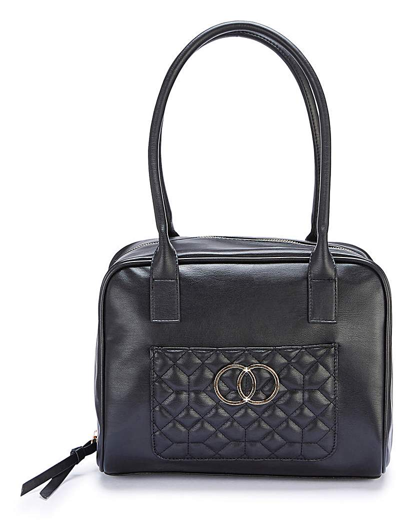 23029490549 Black Bowler Bag