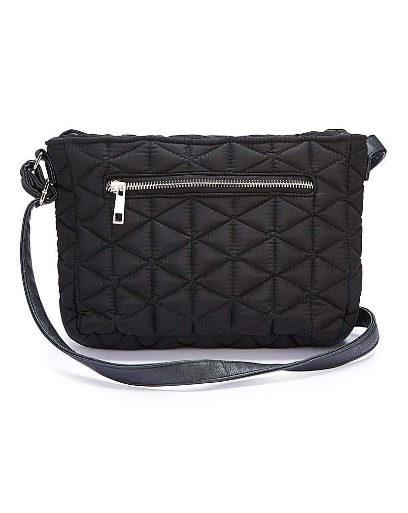 25524189545 Quilted Cross Body Bag