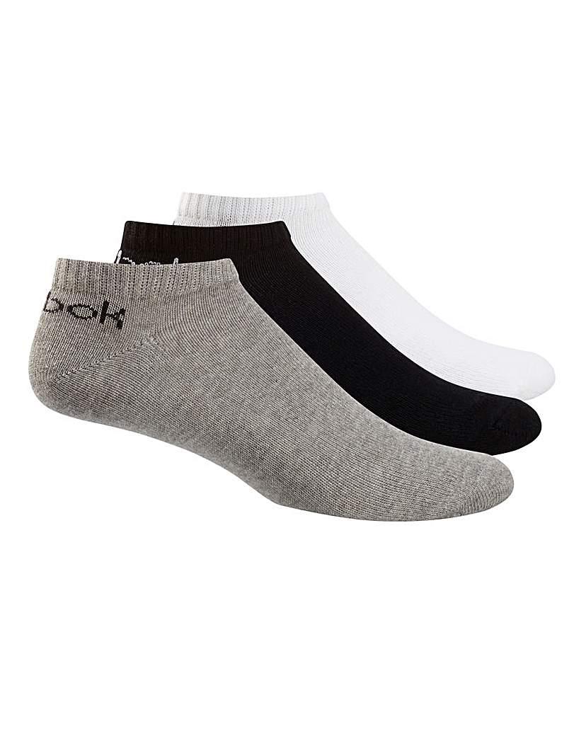 25543200553 Reebok 3 Pack Core Ankle Sock