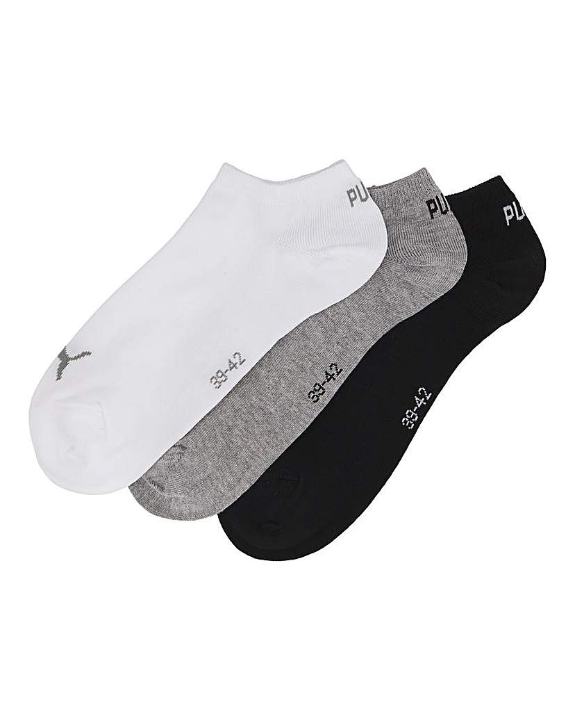 24904621445 Puma Pack Of 3 Ankle Socks