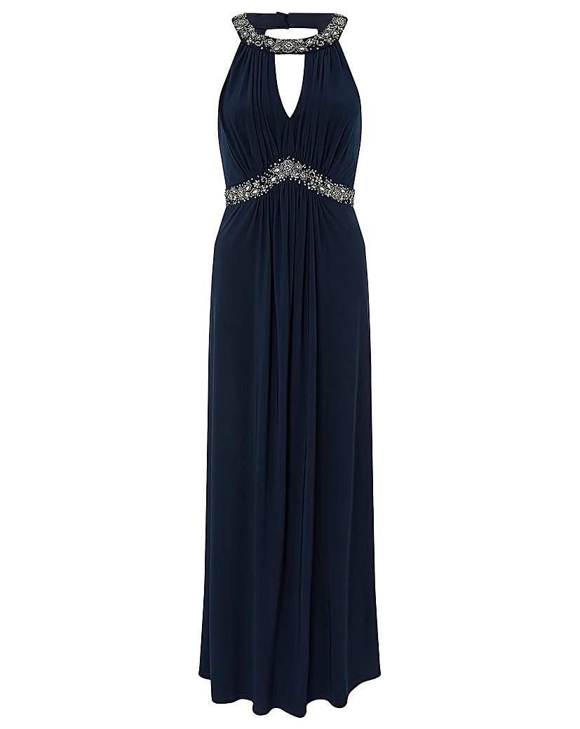 Monsoon isabeli embellished maxi dress