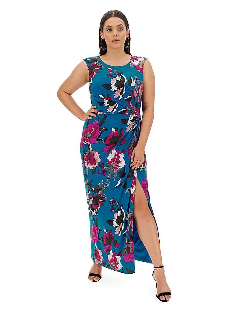 Joanna Hope Joanna Hope Floral Stretch Maxi Dress