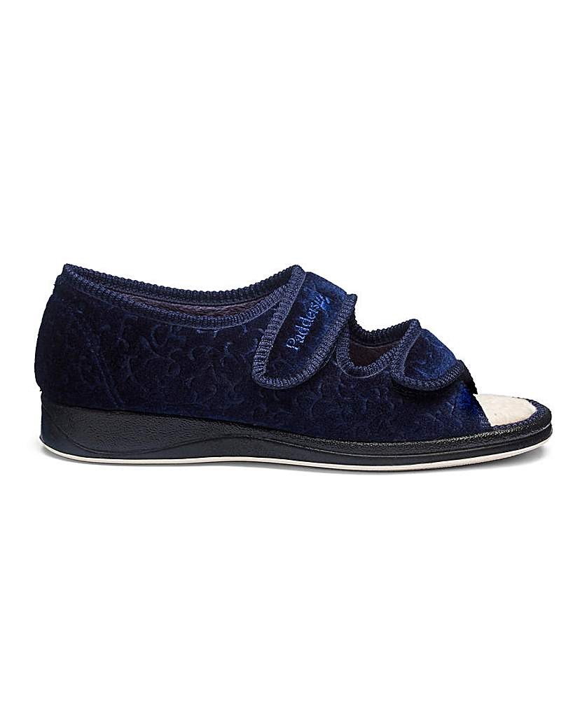 Padders Touch and Close Slippers E Fit