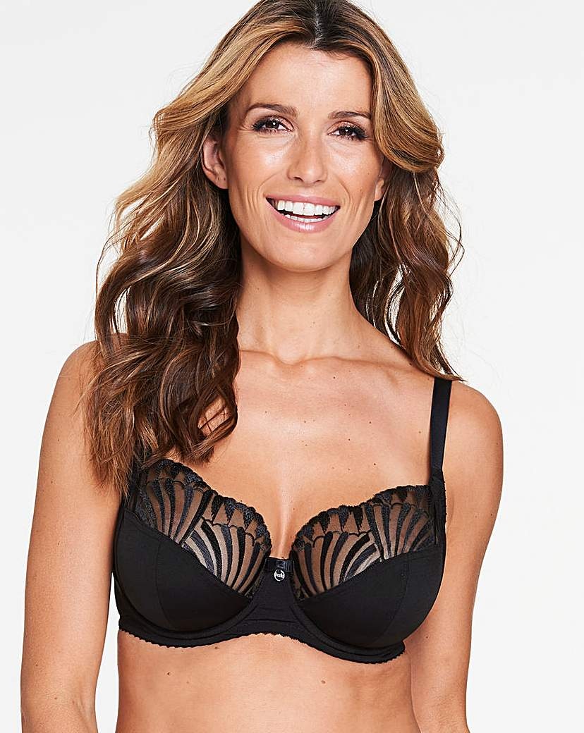 Image of Berlei Embrace Support Black Balcony Bra