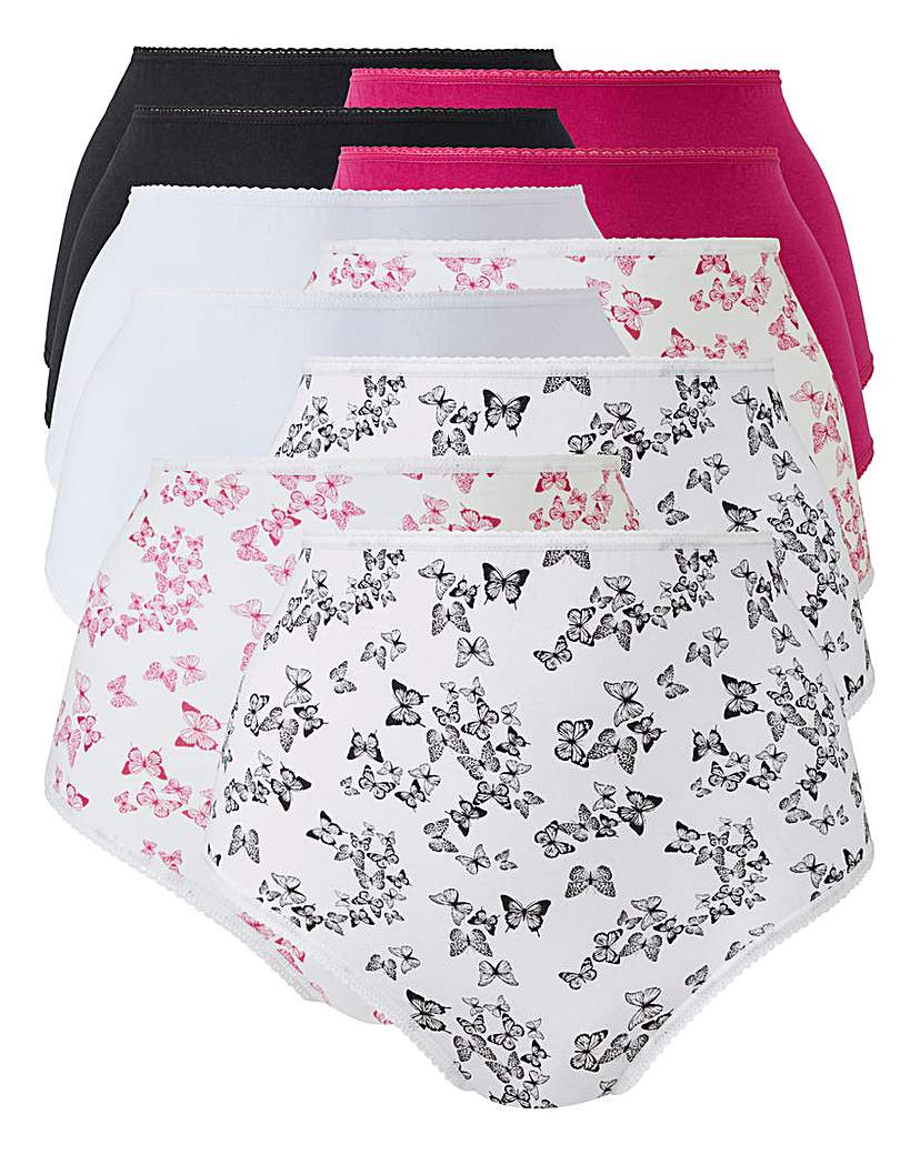 10Pack Butterfly Full Fit Briefs