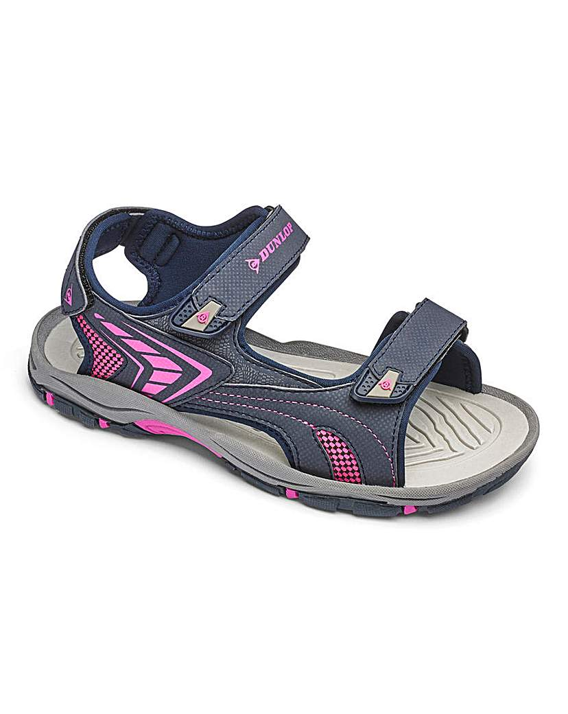 Dunlop Touch and Close Sandals E Fit