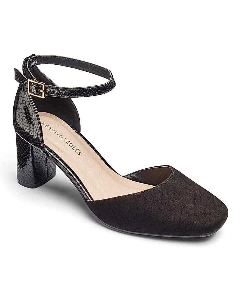 1930s Style Shoes Heavenly Soles Shoes E Fit £18.00 AT vintagedancer.com