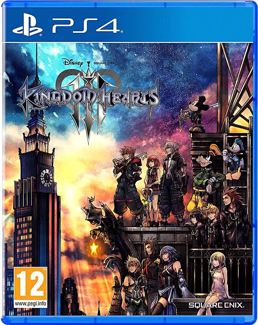 Kingdom Hearts III 3 PS4