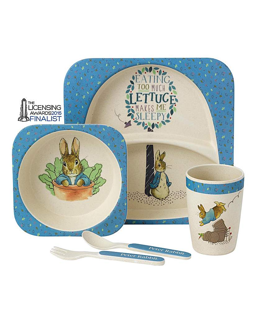Image of Peter Rabbit Organic Dinner Set
