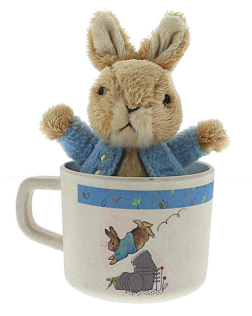 Image of Peter Rabbit Mug and Plush Gift Set