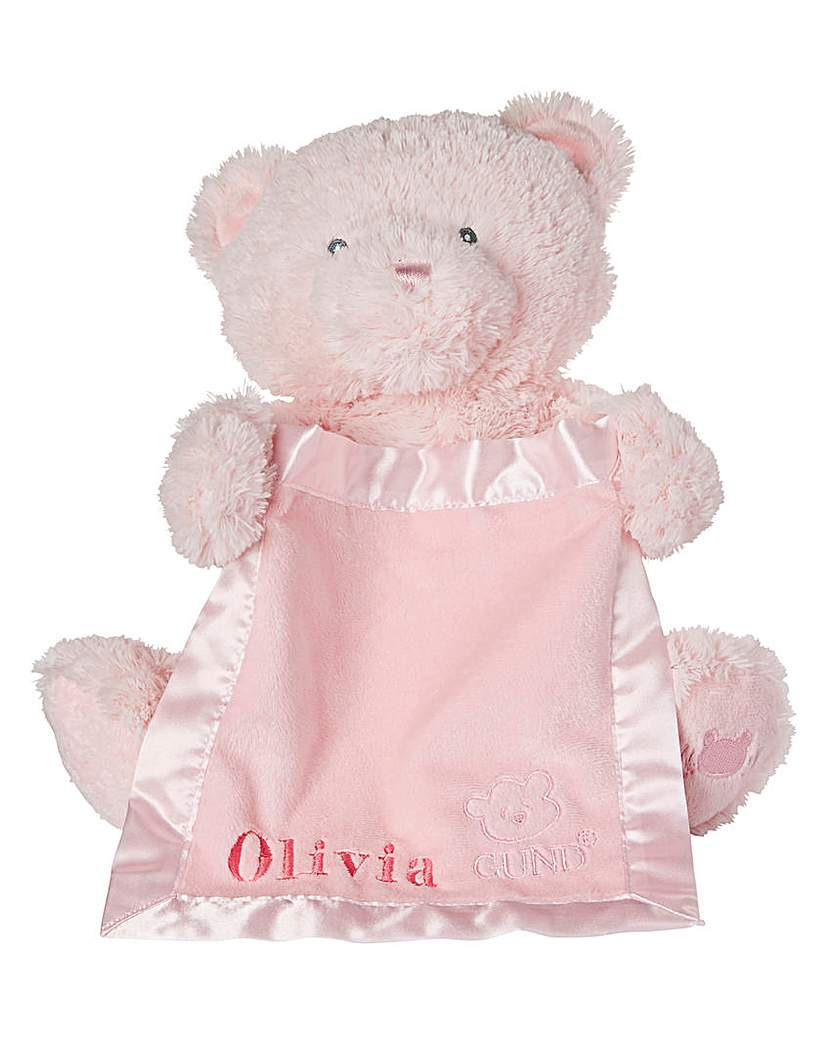 Personalised Gund Peek-a-boo Bear
