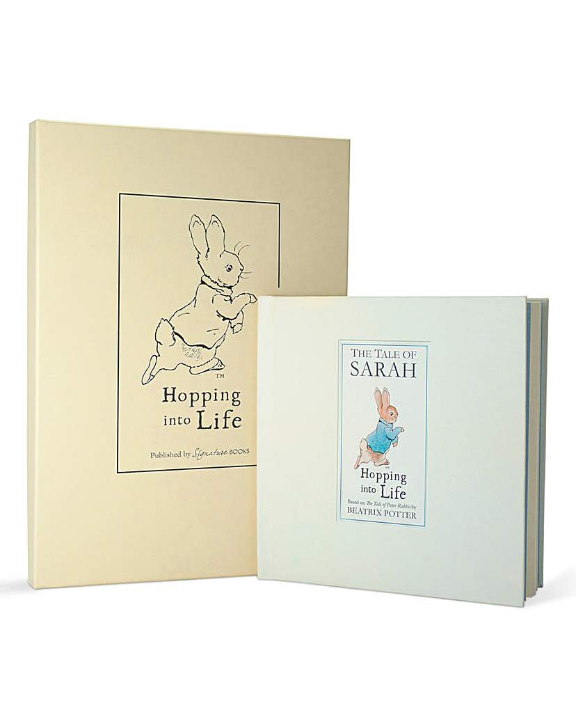 Image of Personalised Peter Rabbit Book