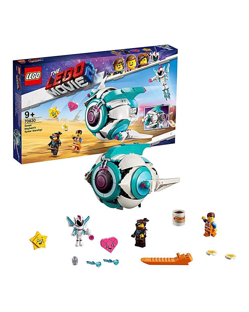 LEGO Movie 2 Sweet Mayhem's Starship!