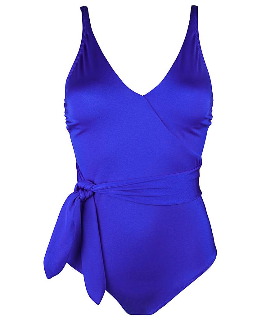 Pour Moi? Pour Moi Azure Belted Control Swimsuit