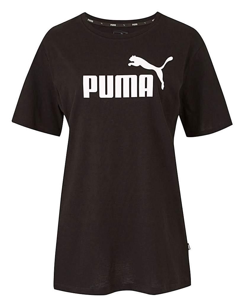 Puma Essential Boyfriend Fit Logo Tee