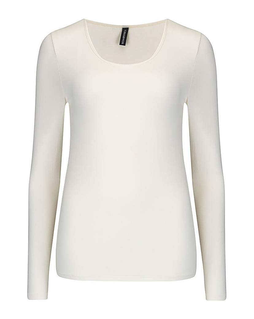 Charnos Charnos Second Skin Long Sleeve Top