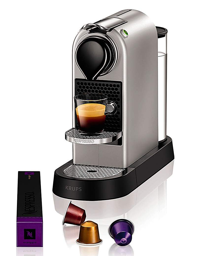 Nespresso Citiz Silver Coffee Machine