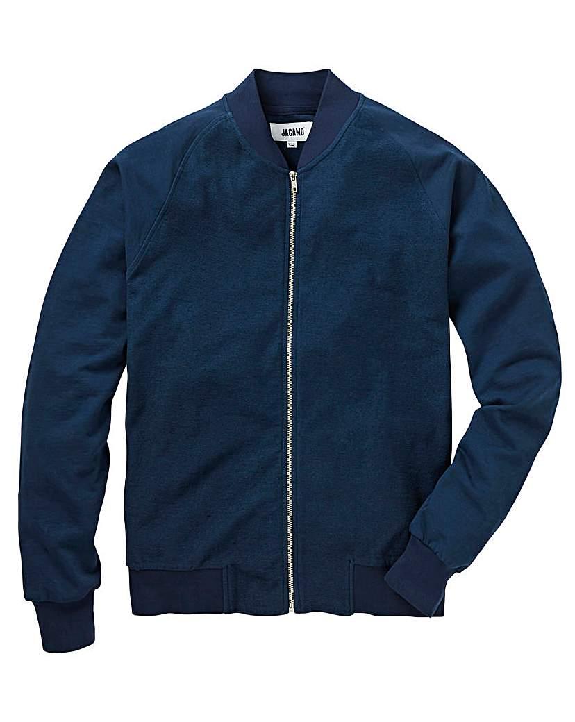 Baseball Textured Navy Sweatshirt L