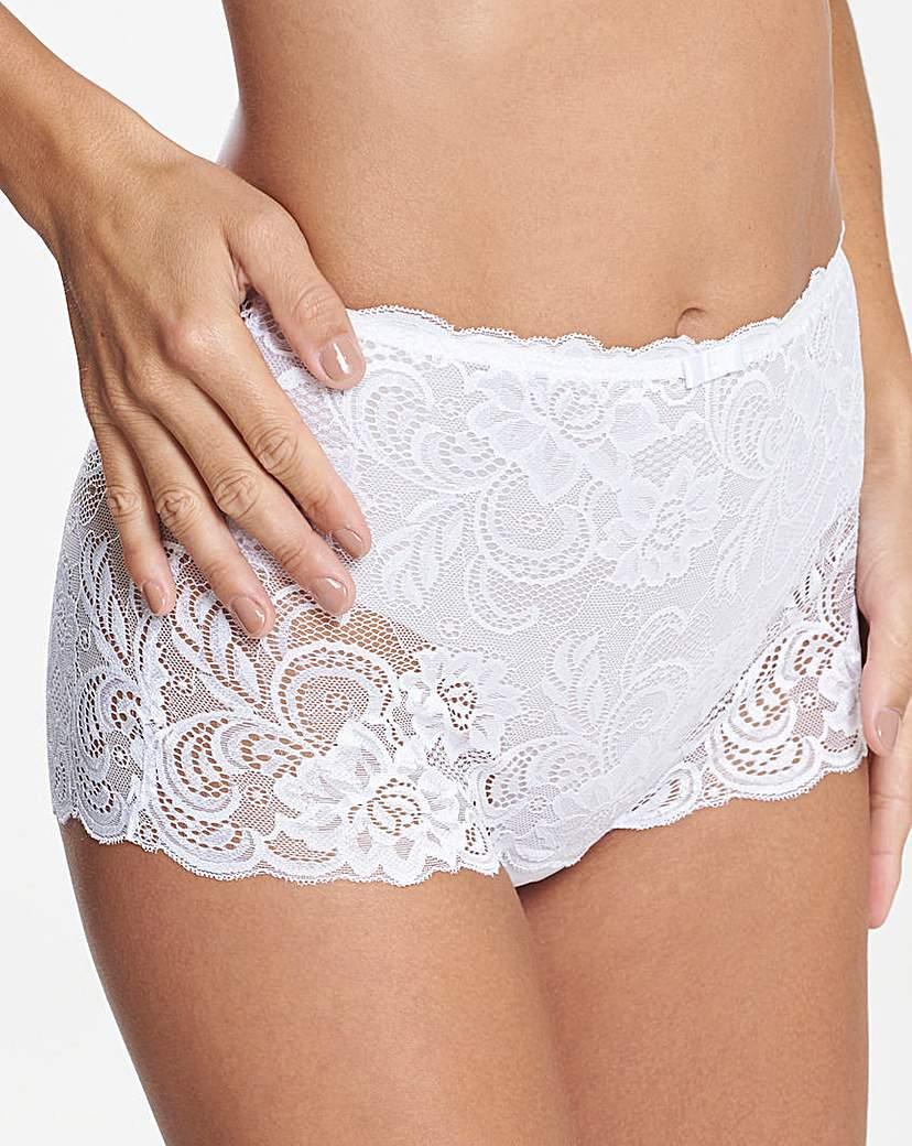 Gossard Gypsy White Deep Shorts