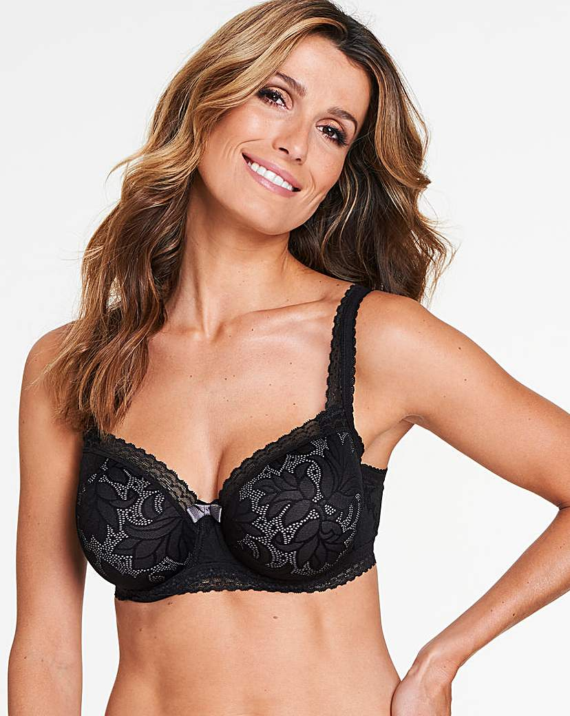 Image of Playtex Invisible Elegance Black Bra
