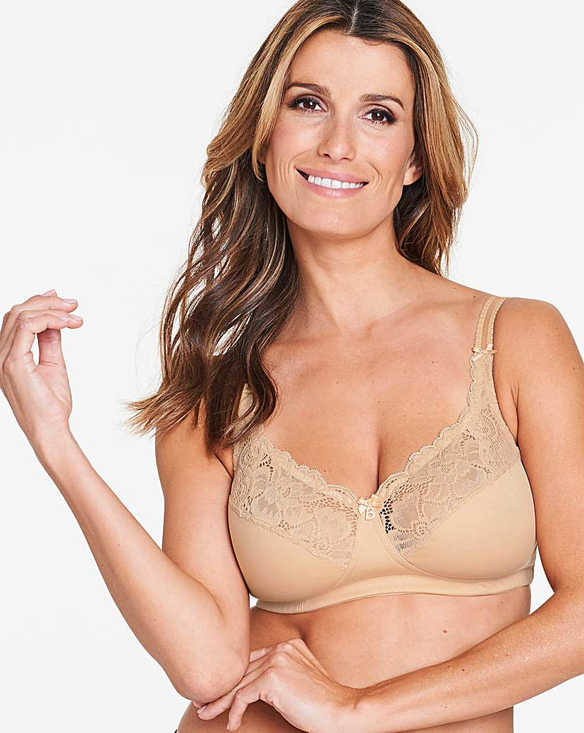 Image of Bestform Cocoon Non Wired Nude Bra