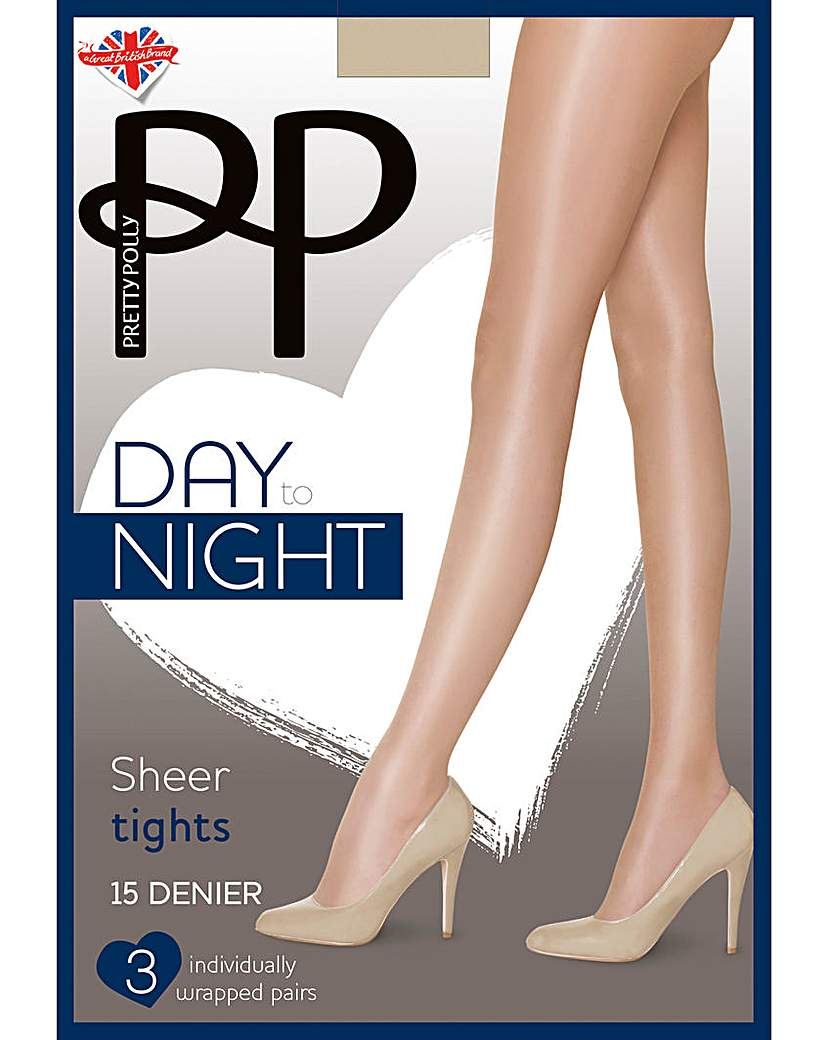 Pretty Polly Pretty Polly 3 Pack Day to Night Tights