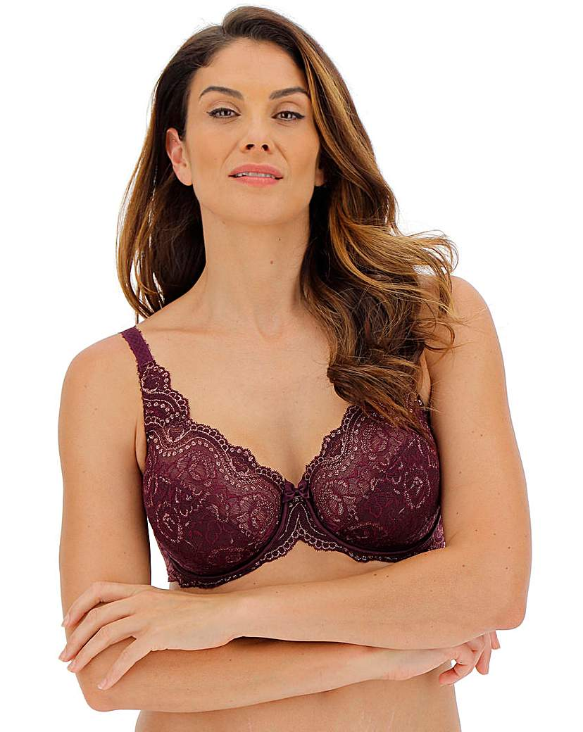 Image of Playtex Flower Lace Full Cup Wired Bra