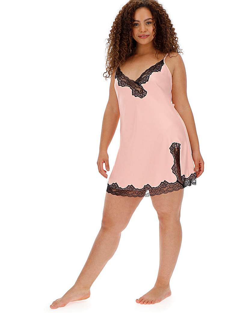 Ann Summers Selena Lace Pink Chemise