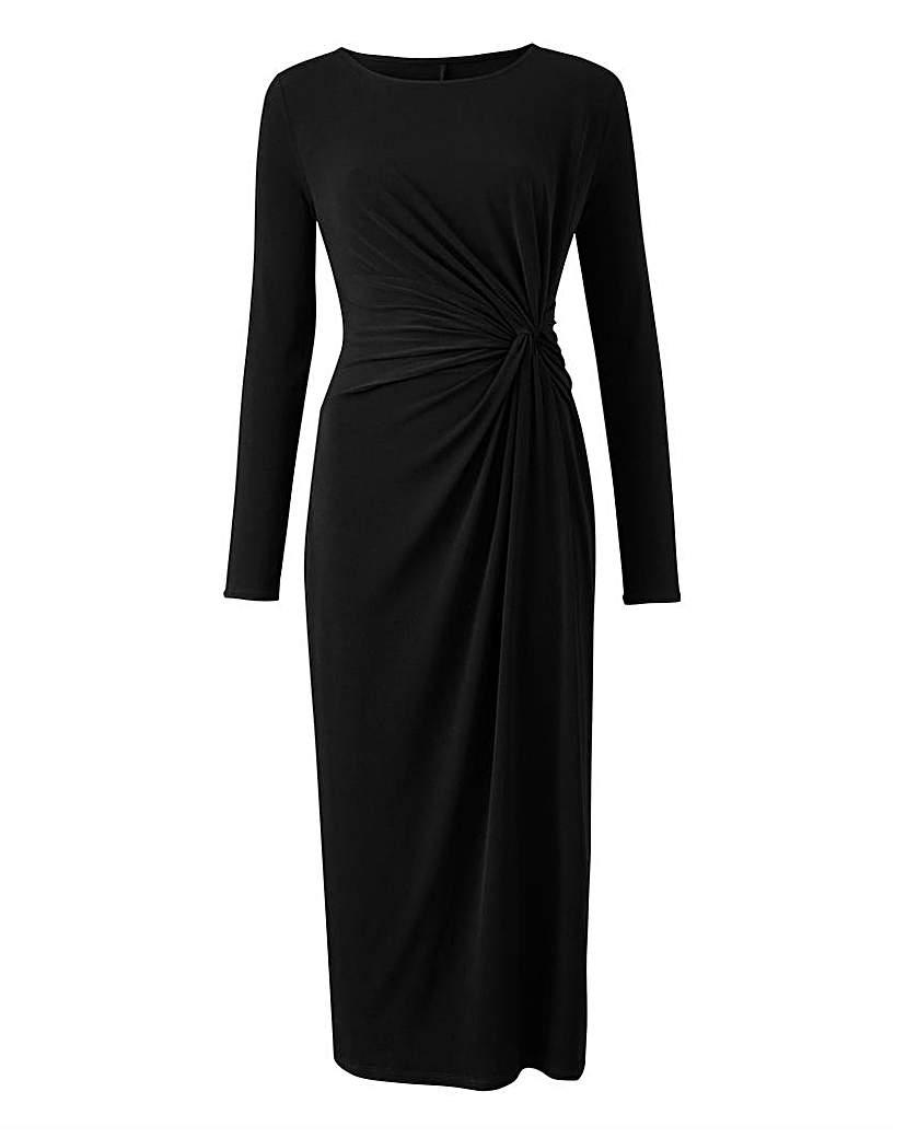 JD Williams Black Twist Knot Dress